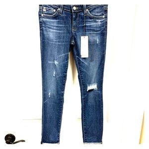 NEW Adriano Goldschmied AG The Stilt Roll-Up Jean
